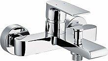 Rousseau 4057824nordé Mischbatterie für Badewanne/Dusche Chrom