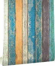 ROVOGO Tapete in Holzoptik zum Abziehen und