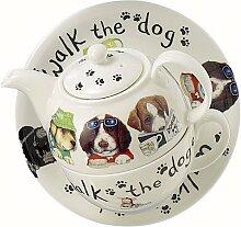Roy Kirkham Animal Fashion Hunde Tea for One