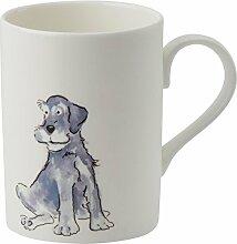 Roy Kirkham Lucy Tasse grau Hund