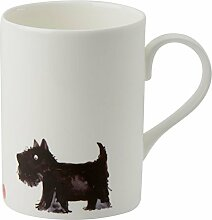 Roy Kirkham Lucy Tasse Scottish Terrier Hund