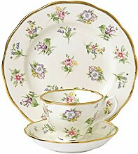 Royal Albert 100 Years 1900 Teetasse, Untertasse