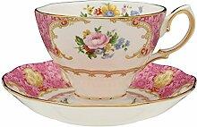 Royal Albert 15135409 Lady Carlyle Teacup & Saucer