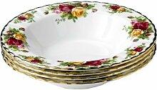 Royal Albert Old Country Roses Rim Soup Bowl 21cm