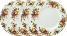 Royal Albert Old Country Roses Teller 21cm (4er
