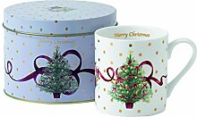 Royal Albert Old Country Roses Weihnachtstasse in