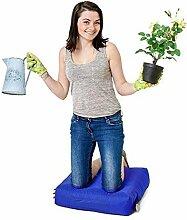 Royal Blau Wasserabweisende Outdoor Gadren Workshop DIY kniend Pad Sitzsack mit Griff und Taschen
