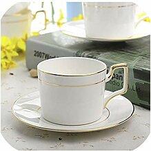 Royal Bone Kaffeetasse und Untertasse Porzellan