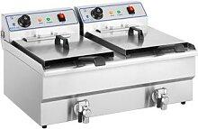 Royal Catering Elektro-Fritteuse - 2 x 16 Liter -