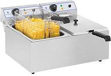 Royal Catering Elektro-Fritteuse - 2 x 17 Liter -