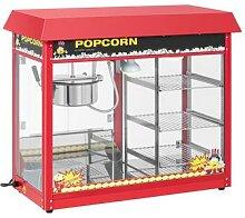 Royal Catering Popcornmaschine mit beheizter
