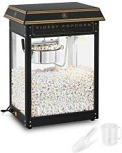 Royal Catering Popcornmaschine - schwarz & golden
