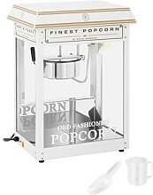 Royal Catering Popcornmaschine - weiß & golden
