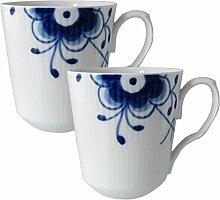 Royal Copenhagen 1016871 Blue Fluted Becher,