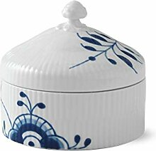 Royal Copenhagen 1016880 Blue Fluted Bonbonniere,
