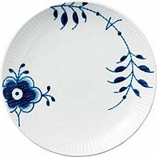 Royal Copenhagen 1016903 Blue Fluted Teller flach,