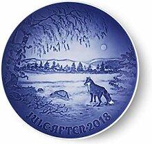 Royal Copenhagen 1024800 Xmas Plate Series B&G