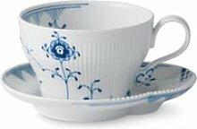 Royal Copenhagen - Elements Blau Tasse mit
