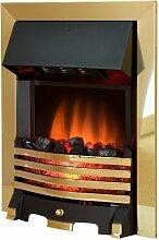 Royal Cozy Fire RCF1 Elektrischer Kamin, Messing