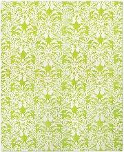 Royal Damask Teppich in Acid Grün von Knots Rugs