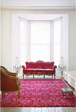 Royal Damask Teppich in Rot & Rosa von Knots Rugs