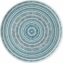 Royal Doulton Servierplatte 32cm Chevron, dunkelblau
