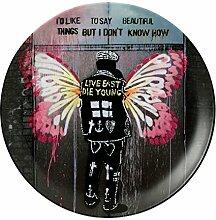 Royal Doulton Teller, Motiv Street Art Beautiful