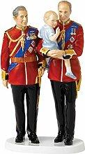 Royal Doulton Zukunft Kings Figur, mehrfarbig