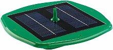 Royal Gardineer Solarbrunnen: Schwimmender Teich-Springbrunnen mit Solarbetrieb (Solar Teich Springbrunnen)