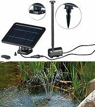 Royal Gardineer Solarpumpe: Teich- und