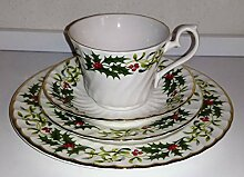 / Royal Kendal/Blumenranke/Kaffeegedeck 4tlg./