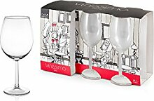 Royal Leerdam 606034 Vinissimo Packung 6 Weinglas, Glas, 43 cl