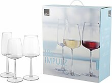 ROYAL LEERDAM Service 18 glas Impulz Glas Weinglas und Kelch