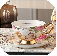 Royal Pet Teetasse/Untertasse/Löffel-Set, aus