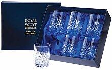 Royal Scot Crystal - Edinburgh - 6 große