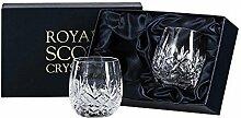 Royal Scot Crystal Glas Gin & Tonic G&T Barrel