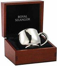 Royal Selangor Zinn Baby's Becher in Geschenkpackung