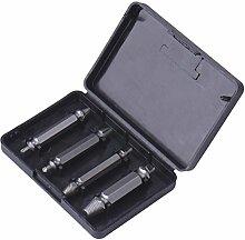 Royalr Werkzeuge 4 Stück Schrauben-Tool zum
