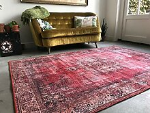 Rozenkelim Teppich Vintage - rot - Orientteppich -
