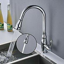 Rozin Küchenarmatur Chrom Küche 360° Schwenkbar