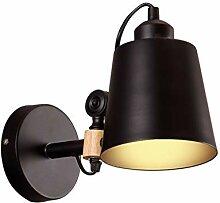 RREN Massivholz-Wandlampe, einfache