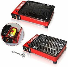 Rsonic Rot Camping Gasgrill ohne gas kartuschen