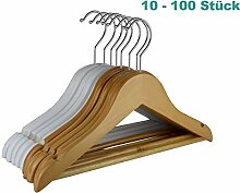 RSR Hangers 10 Stück Kinderbügel Holz Kinder