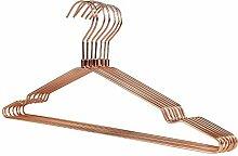 RSR Hangers 10 x Kleiderbügel Metall Rosegold