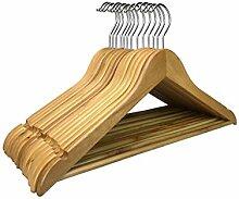 RSR Hangers 25 x Holzkleiderbügel Kleiderbügel