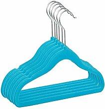 RSR Hangers 50 Stück Kinderkleiderbügel Samt