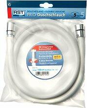 RST 1531 Duschschlauch mit Drehanschluss, weiß,