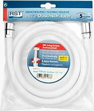 RST 1533 Duschschlauch mit Drehanschluss, weiß,