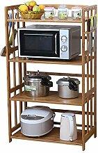 RSWLY Küche Mikrowelle Rack Ständer Lagerung