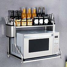 RSWLY Küchen - Lagerregal - Mikrowellen - Ofen -